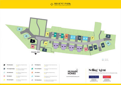 Site Map :: Regent Park, Newtownards