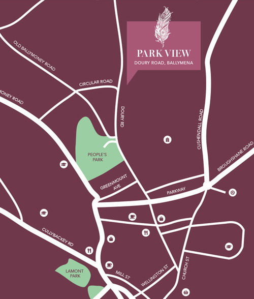 Park View, Location Map