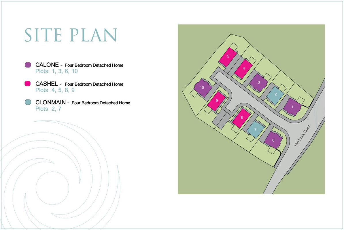 Site Map :: Spinners Court, Armagh