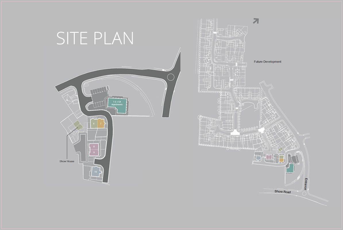 Site Map :: The Apartments at Hartley Hall, Greenisland