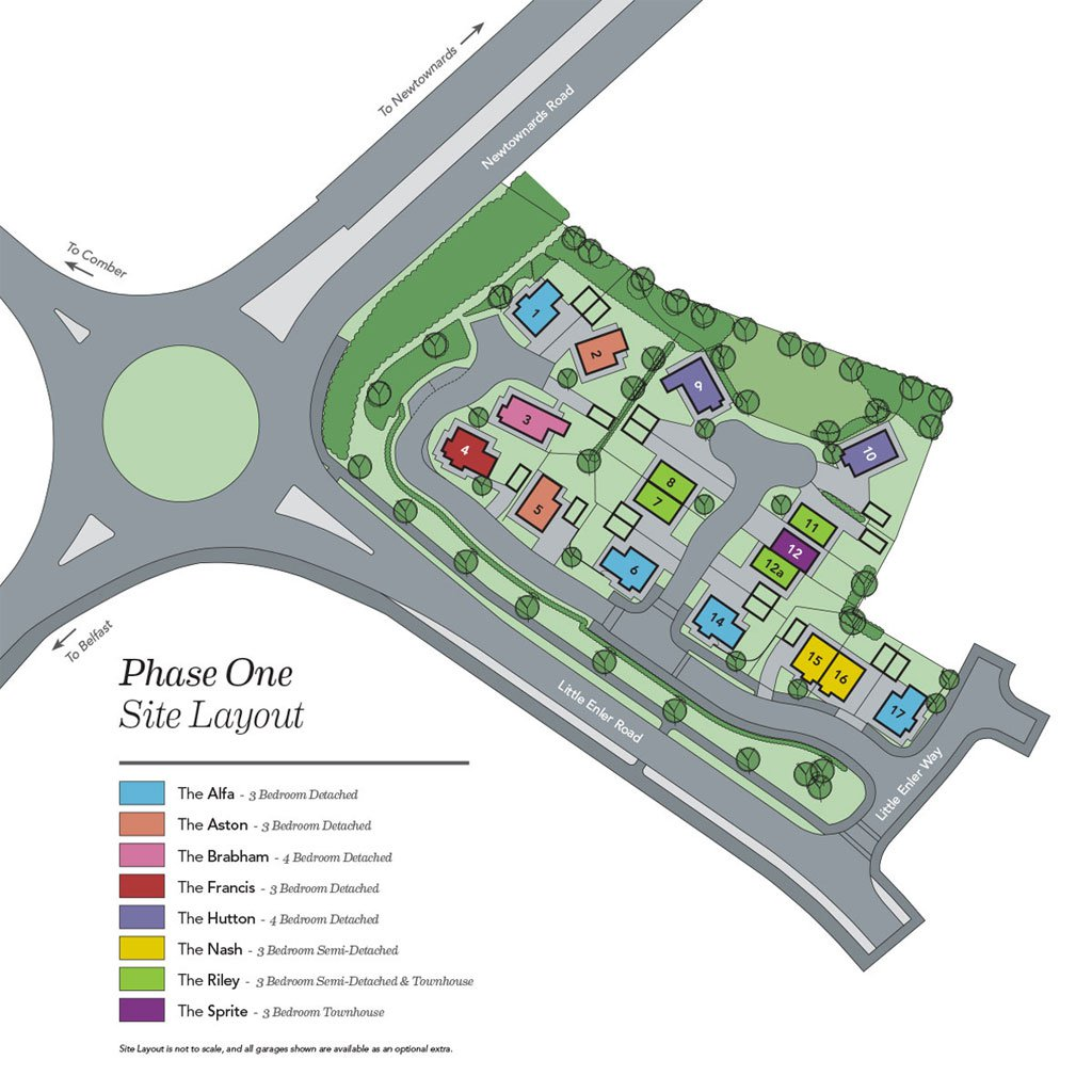 Enler Village Site Layout