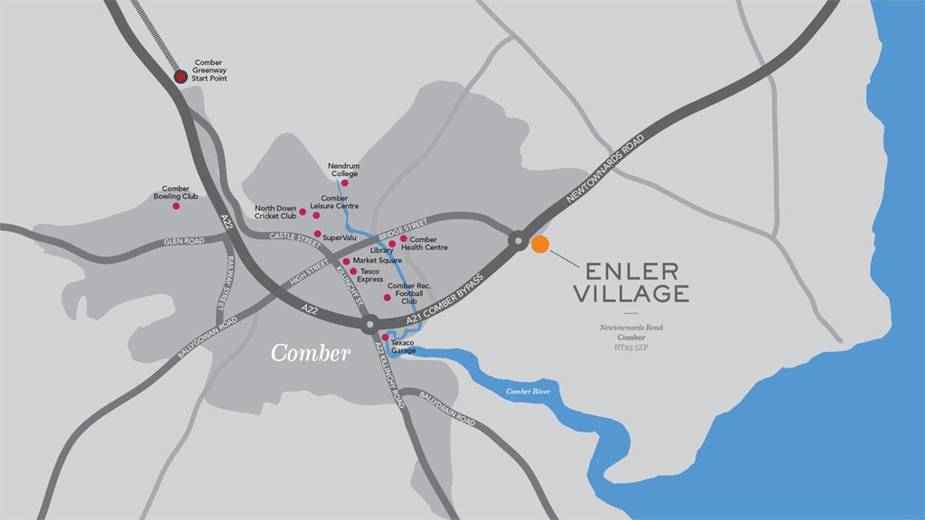 Enler Village Site Location