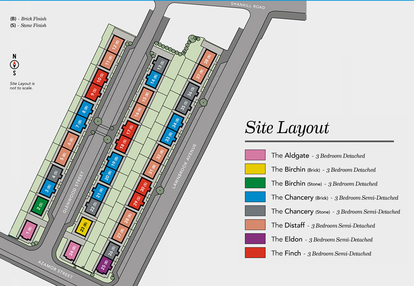 Thirty Eight North Site plan