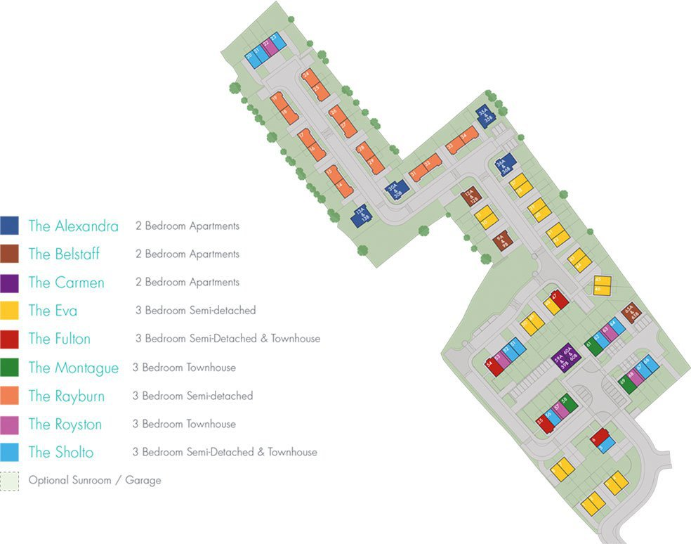 Fairveiw Farm Site Layout