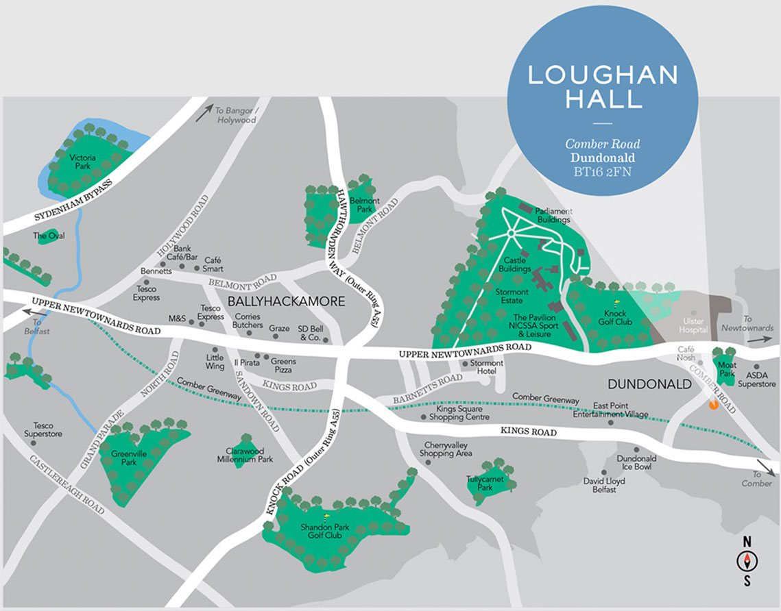 Loughan Hall Site Location