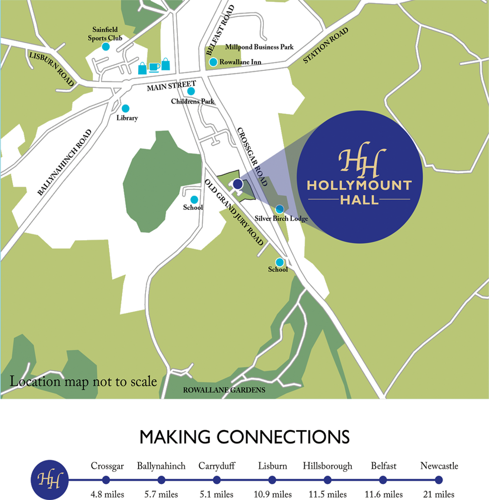 Hollymount Hall Site Plan