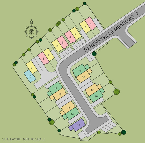 Clements Hall Site Map