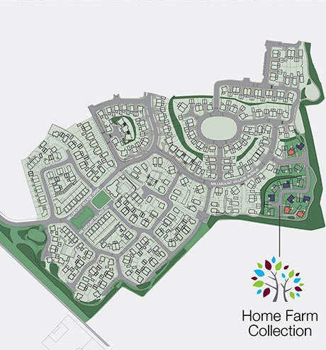 Home Farm Collection, Site Layout