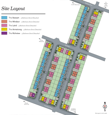 Seventy Six South Siteplan